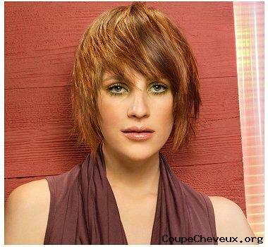 Coupes de cheveux des femmes sur les cheveux mi-longs